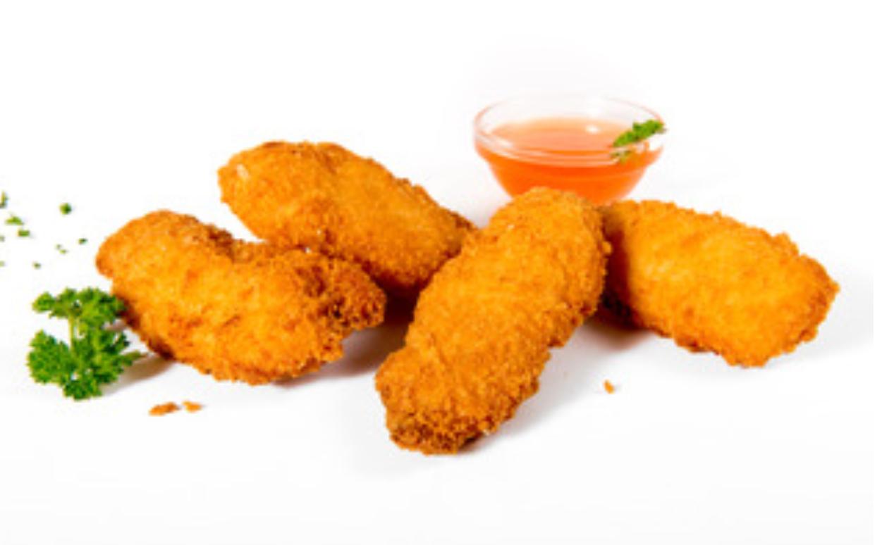 Portie Chicken Strips (4 stuks)
