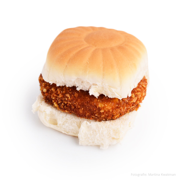 Broodje Kipburger (excl. saus)