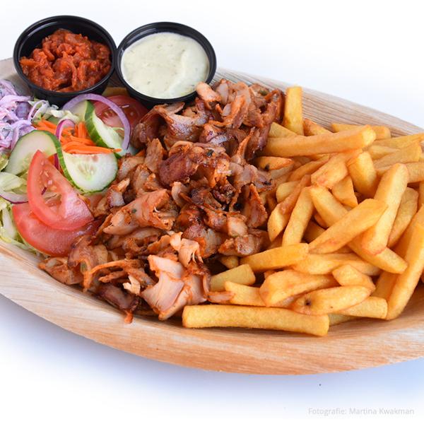 Kip Kebab Maaltijd
