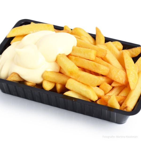 Patat dubbel mayonaise